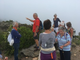 25 mai 17 sommet de Malatra dans la brume